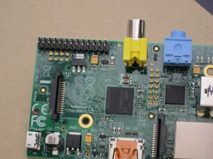 Raspberry Pi P5 location