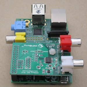 HiFiBerry mounted on RPi
