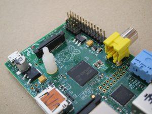 Raspberry Pi P5 + standoff