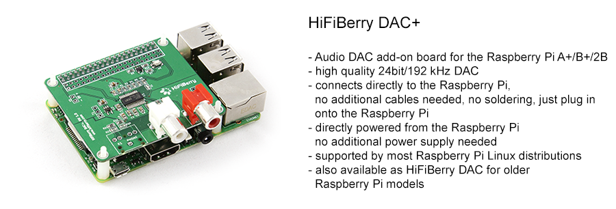 HiFiBerry - improve your Raspberry Pi sound quality | HiFiBerry