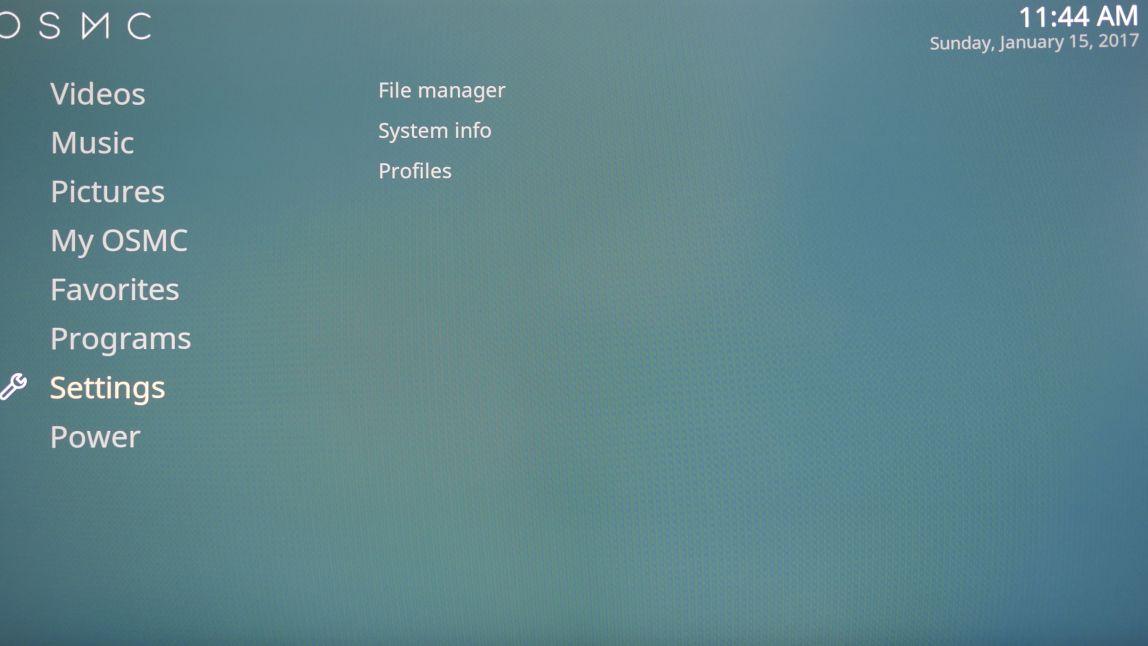 OSMC installation and configuration | HiFiBerry
