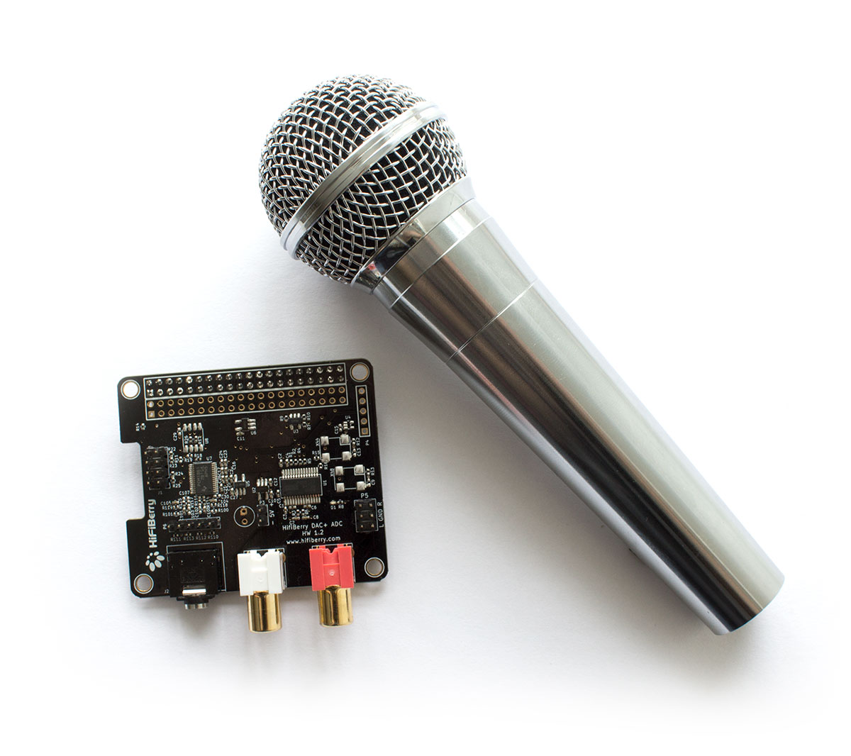 using dynamic microphones with the dac adc hifiberry. Black Bedroom Furniture Sets. Home Design Ideas