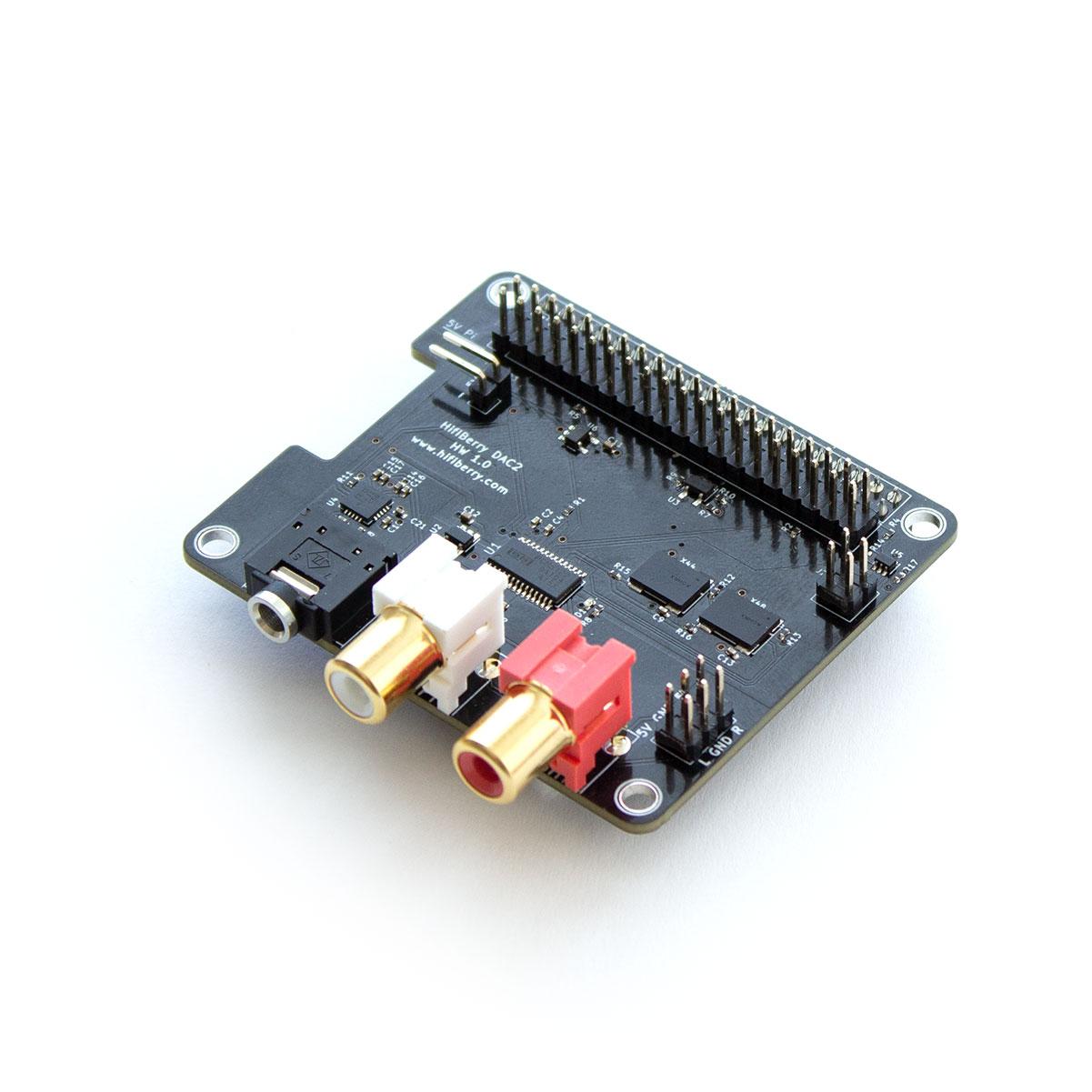 Raspberry Pi HiFiBerry DSP Add On für DAC2 HD und DAC2 Pro